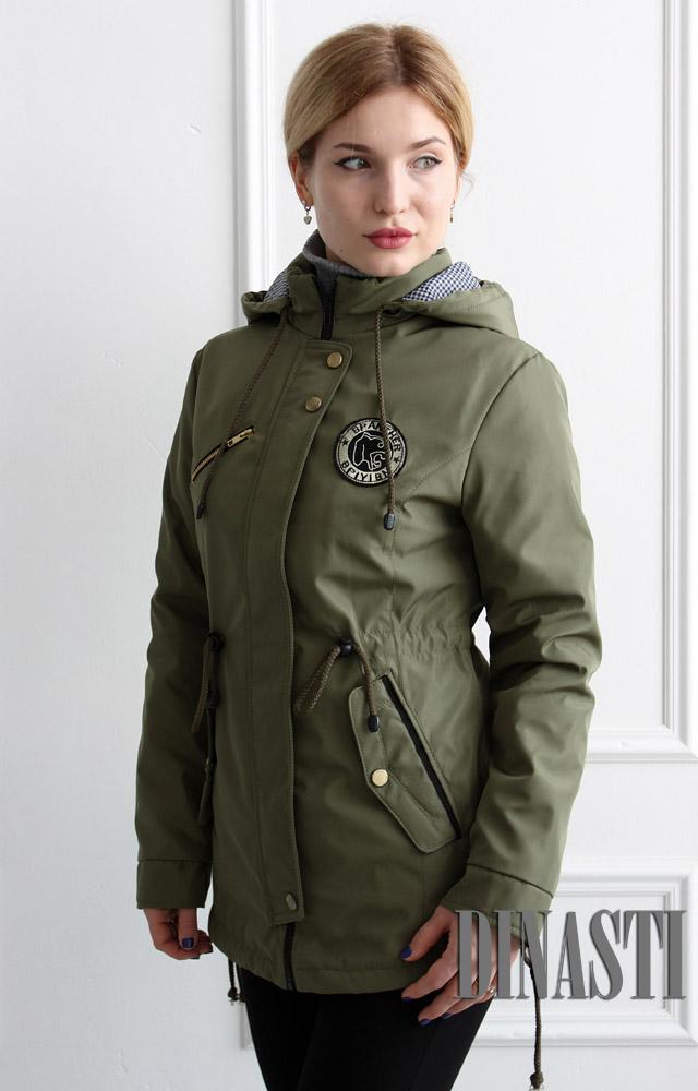 Весенняя куртка-парка Liana