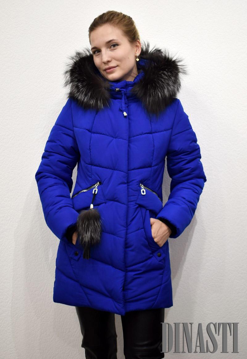 Куртки с отделкой натуральным мехом