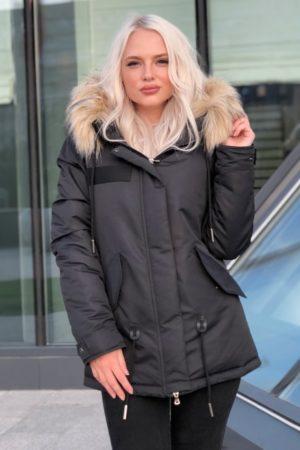 куртки женские зима 2018